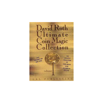 DVD Ultimate Coin Magic Collection Vol 1 ( David Roth )