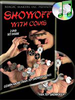 DVD showoff With Coin ( 2 DVD set inside )