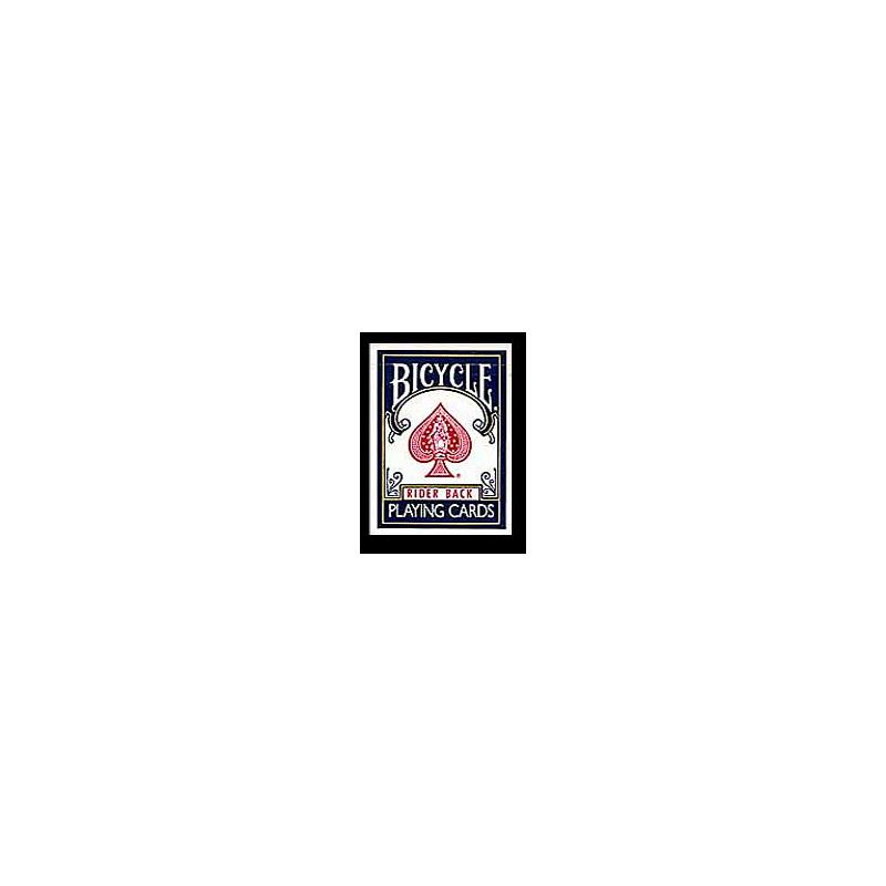 Etui vide Bicycle bleu