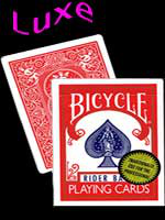 Bicycle poker luxe rouge (Gold Standard) richard turner