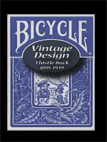 Bicycle Vintage design thistle Bleu 1891-1939