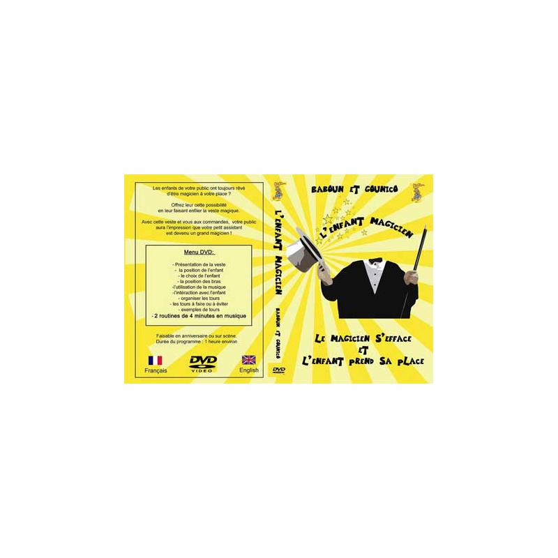 DVD L'enfant magicien ( gounico )