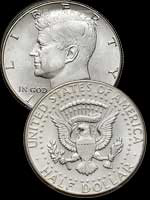 1/2 Dollar - Kennedy aigle - half dollar