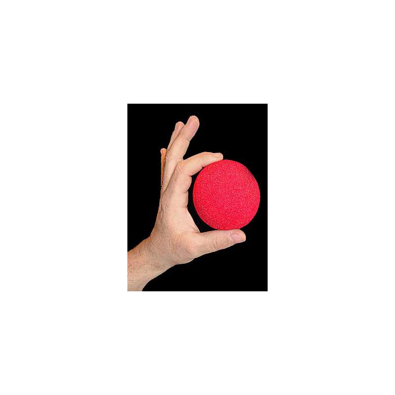 """Goshman 1 balle mousse Rouge ( super soft ) 3""""."""