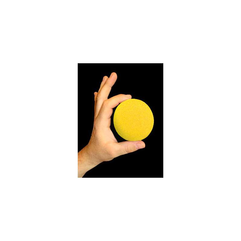 """Goshman 1 balle mousse Jaune ( super soft ) 3""""."""