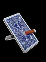 Cigarette Thru Carte ( Bleu )