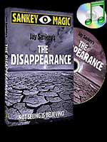 The Disappearance ( Jay Sankey ) - gimmick + DVD !!!