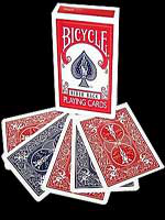 Bicycle jeu de carte rouge / bleu