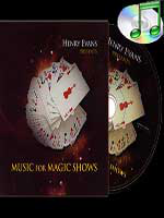 DVD de musique - Music for magic shows ( henry Evans )