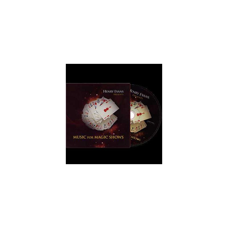 DVD de musique - Music for magic shows ( henry Evans )