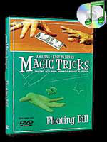 DVD Amazing Easy To Learn Floating Bill (with gimmick )