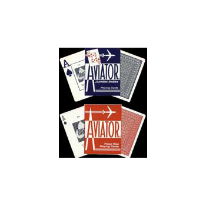 Aviator poker rouge