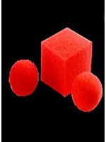 Balle mousse en cube - Ball to Square