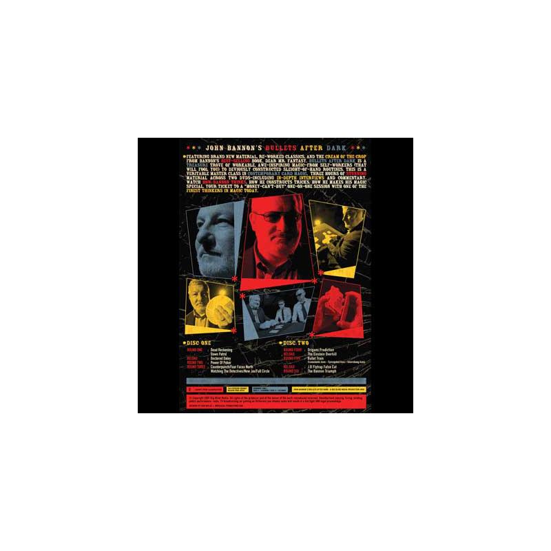 DVD Bullets After Dark (2 DVD Set) by John Bannon & Big Blind Me