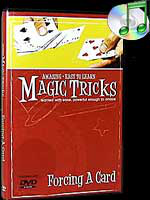 DVD Amazing Easy To Learn Magic Tricks- Forcing A Card
