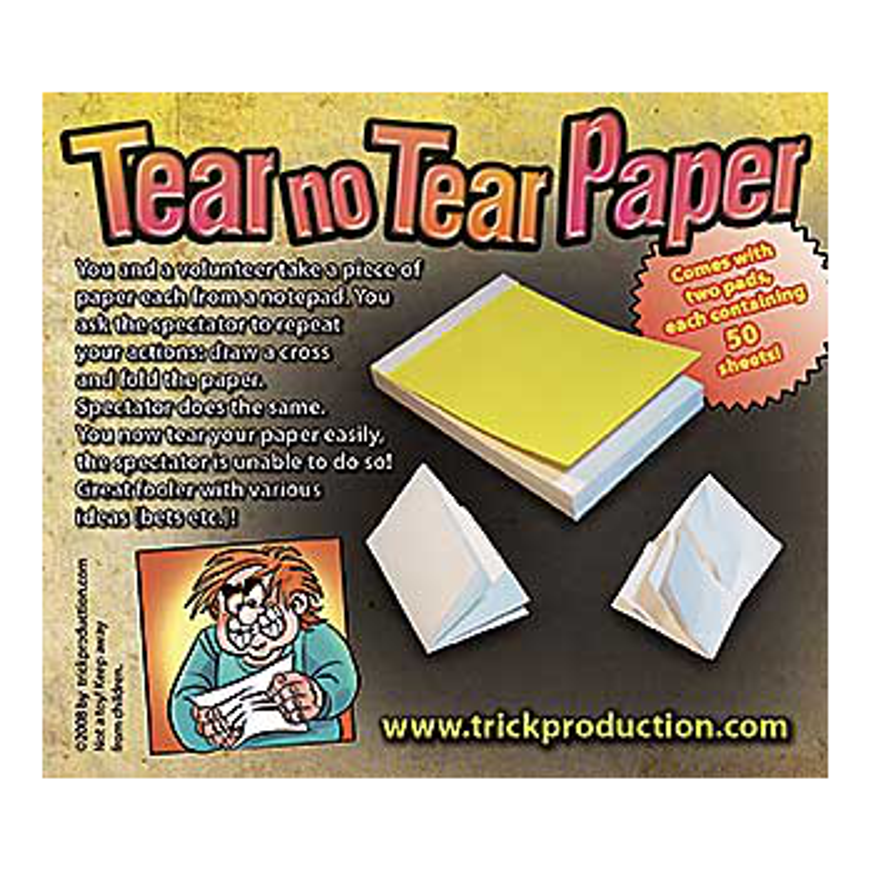 No Tear Pad alternative ( Alan Wong )