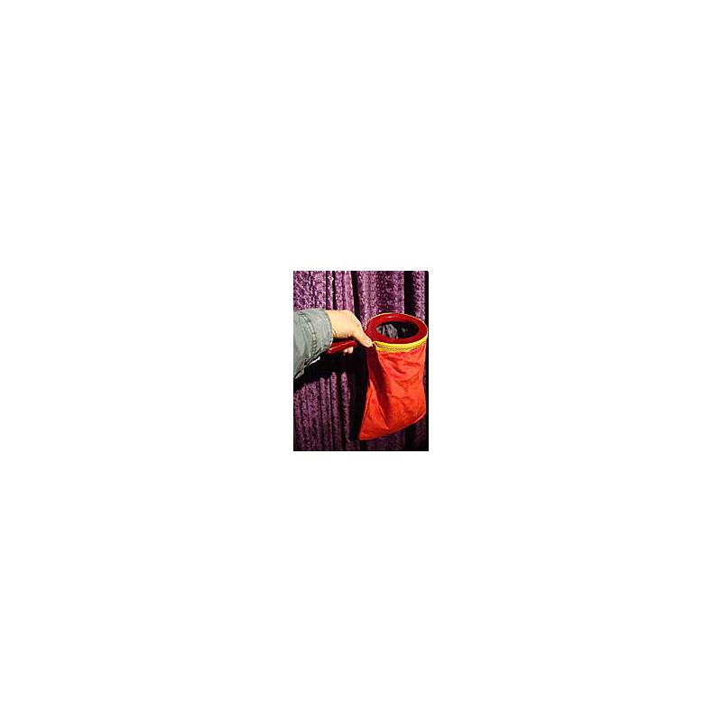Quêteuse double poche rouge zipper