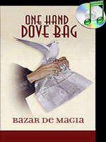 One hand Dove Bag (Newspaper Design) by Bazar de Magia