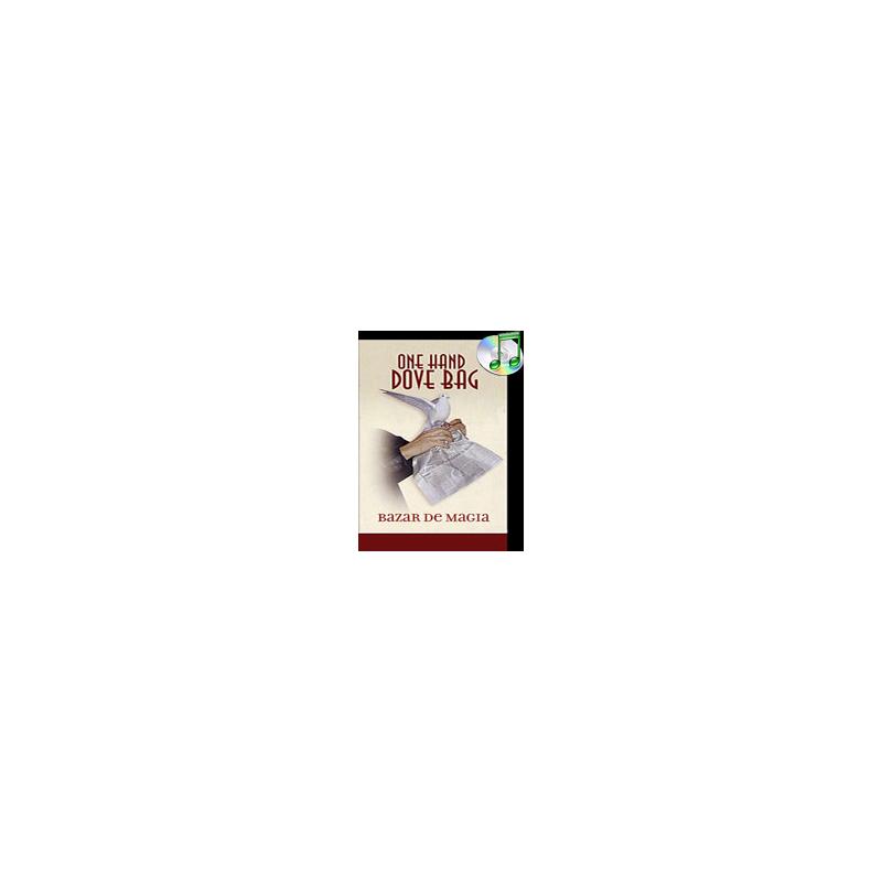 One hand Dove Bag (Newspaper Design) by Bazar de Magia