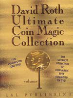 DVD Ultimate Coin Magic Collection Vol 3 ( David Roth )