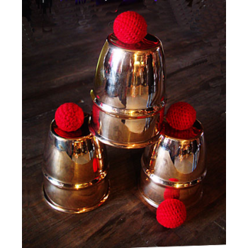Cups and ball et Chop Cup Copper combo