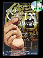 DVD Easy Coin Magic - 50 Effects & Routines