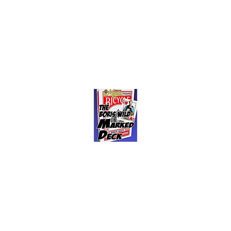 Bicycle Marqué Boris Wild rouge