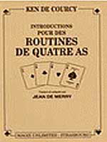 Livre Routine de 4 As. Ken de Courcy