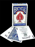 Bicycle poker bleu ( nouvel étui )