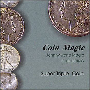 Super Triple Coin (with DVD) Johnny Wong