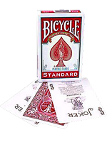 Bicycle poker rouge ( nouvel étui )