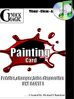 Painting-card ( Dvd & Gimmick )( Michael Chatelain )