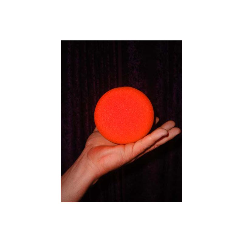 "Goshman 1 balle mousse Orange (  super soft ) 4""."