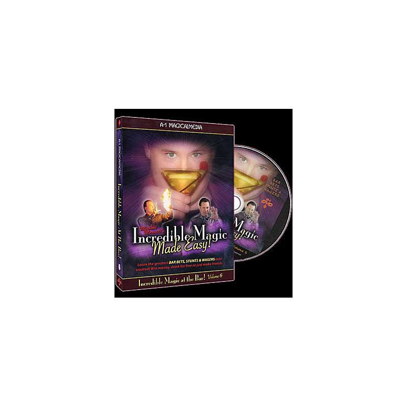 DVD Incredible Magic At The Bar - Volume 1 ( Maxwell )
