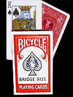 Bicycle Format Bridge Rouge