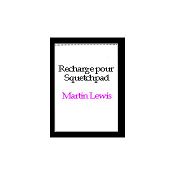 Recharge blanck signature edition Sketchpad Rising ( Martin Lewis )