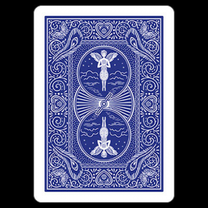 Bicycle poker 809 Mandolin Bleu