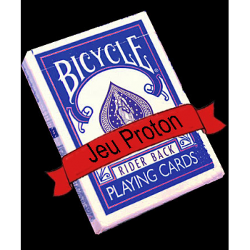 Jeu proton bicycle Bleu