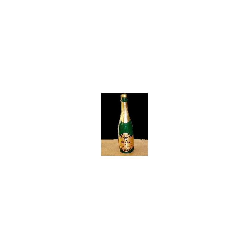 Bouteille de champagne en latex