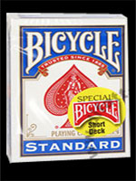 Bicycle short deck Bleu