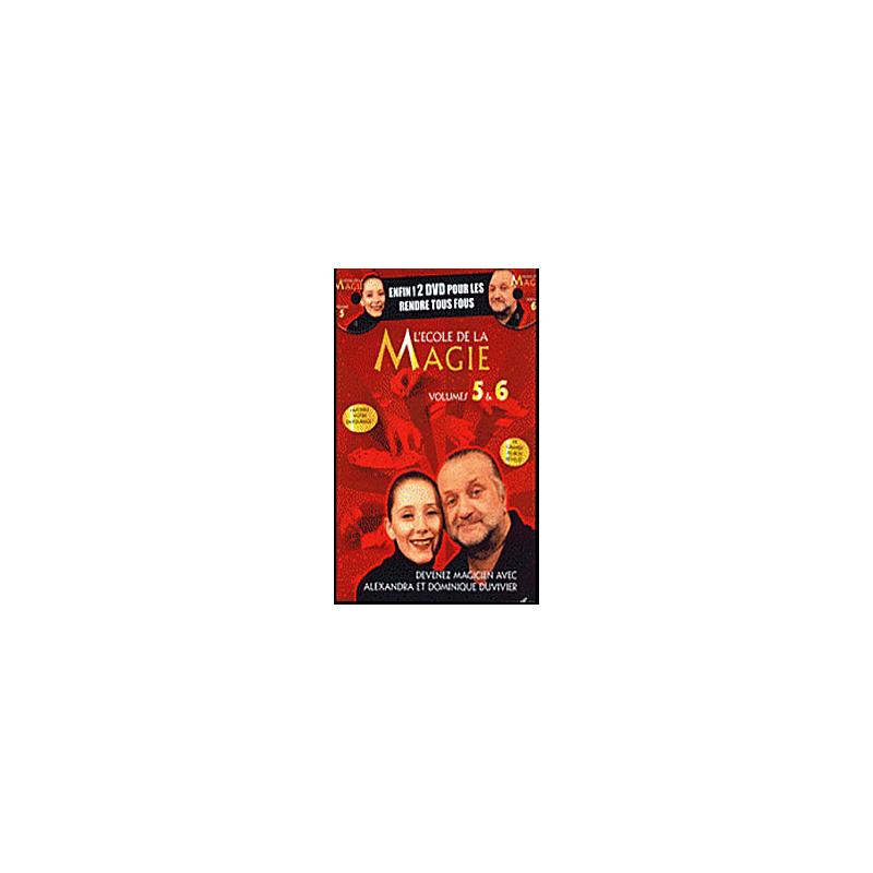 DVD ecole de la magie vol 5 et 6 ( duvivier )