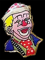 Pin's Clown