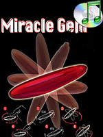 Miracle Gem 1 Toupie miracle ( triangle des  bermudes )