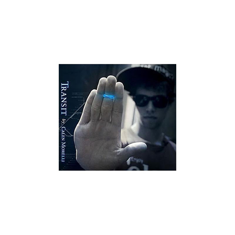 TRANSIT dvd + gimmick ( Calen Morelli )