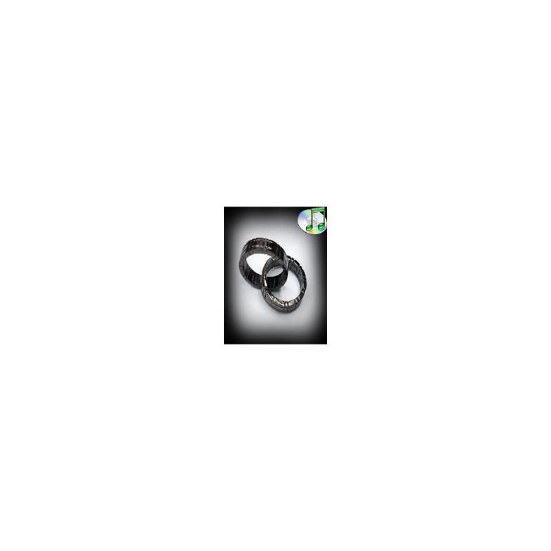 Himber ring black argent ( 2 bagues ) - Les bagues enclavées