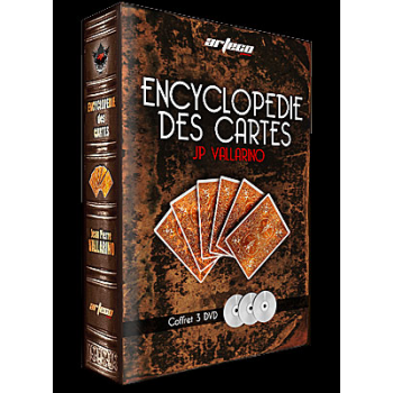 DVD Encyclopedie Des Cartes (3 DVD) ( VALLARINO )