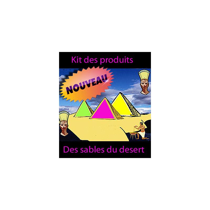 Sable du désert  ( que les produits nouvelle version )