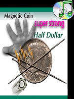 Magnetic coin half dollar Super strong (Kreis Magic )