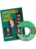 DVD Ray Kosby Impossible Card Magic!!!