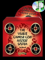 The Visible Chinese Coin Mystery System (Gimmicks and DVD) ( Marcel and Tango )!!!